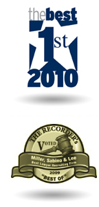 The Recorder's Voted Miller, Sabino, & Lee Best of 2009